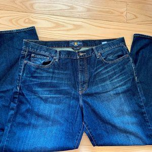 Lucky Brand 361 Vintage Straight Jeans 40x32